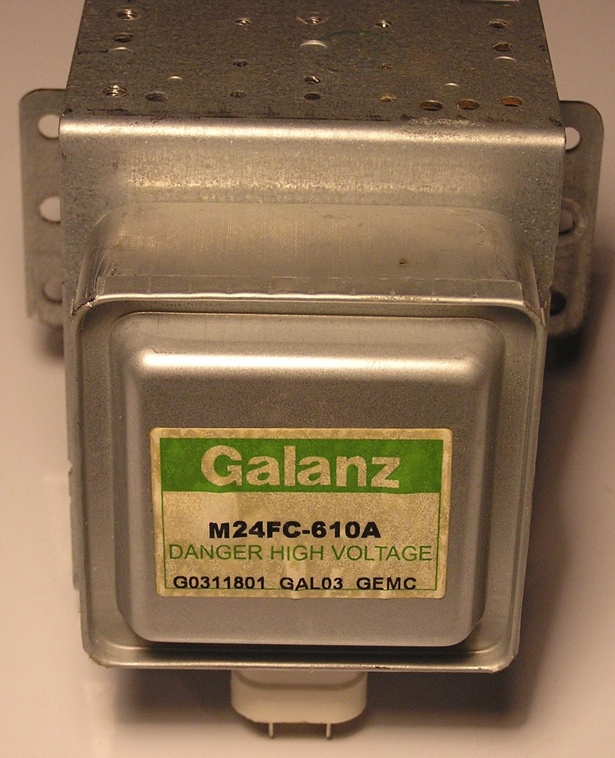 Galanz M24FB-210A microwave magnetron