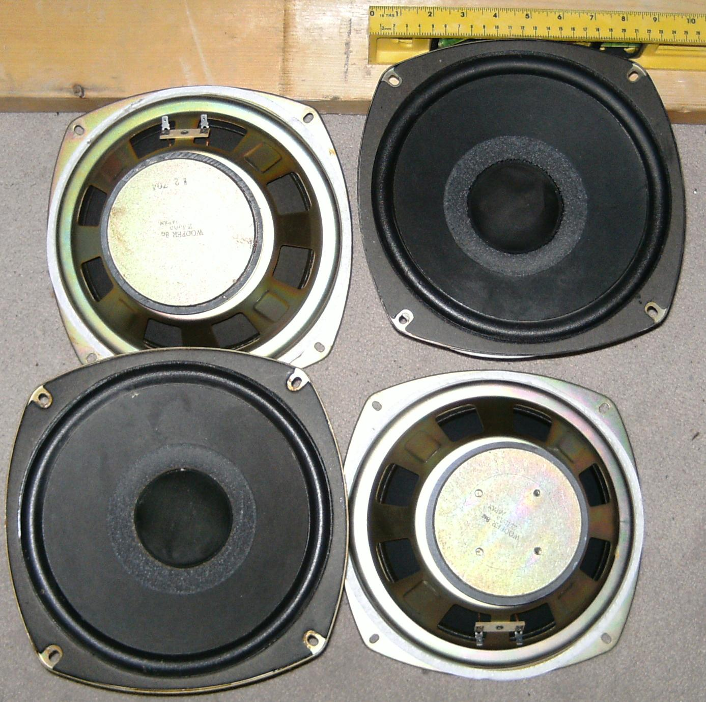 2510Aa 8 Ohm woofer